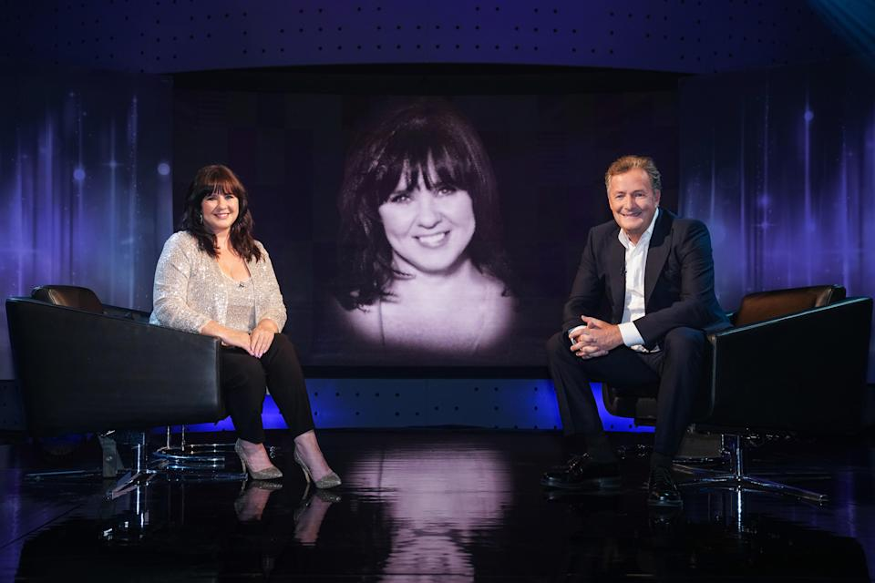 Coleen Nolan appears opposite Pier Morgan on Life Stories. (ITV)