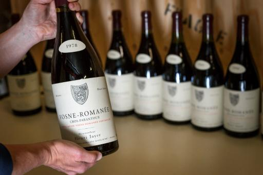 The wines auctioned included Cros-Parantoux Vosne-Romanee Premier Cru, which ranks among the world's priciest, and a host of others top notch Burgundies