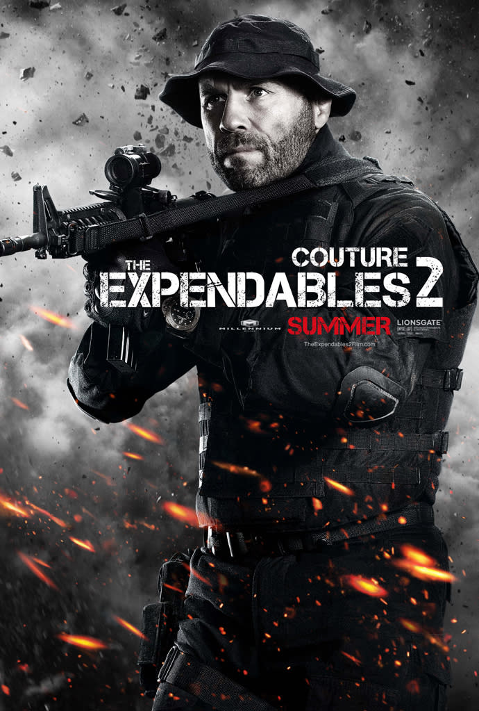 """Randy Couture in Lionsgate's """"The Expendables 2"""" - 2012"""