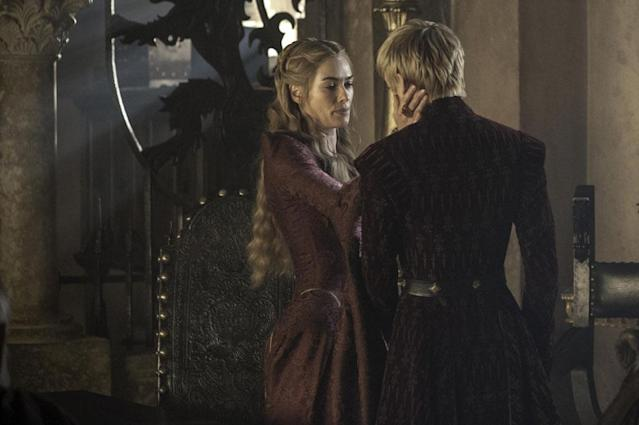"Lena Headey and Jack Gleeson in the ""Game of Thrones"" Season 3 finale, ""Mhysa."""