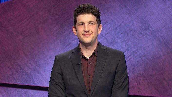 """<p>We've yet to see the heights of current champion Matt Amodio's abilities. As Season 38 premieres, 18-game streaker Amodio is hoping to secure his 19th win, with $574,801 already under his belt. Amodio, a computer science PhD candidate at Yale, has played through a turbulent chapter in <em>Jeopardy!</em> history, weathering the storm of the Mike Richards <a href=""""https://www.esquire.com/entertainment/tv/a37358435/mike-richards-jeopardy-scandal-resignation-statement/"""" rel=""""nofollow noopener"""" target=""""_blank"""" data-ylk=""""slk:controversy"""" class=""""link rapid-noclick-resp"""">controversy</a>. Amodio's earnings make him the third highest-earning contestant of all time, but his streak isn't over yet, meaning that it's still possible for him to leapfrog over Holzhauer or Jennings. </p>"""