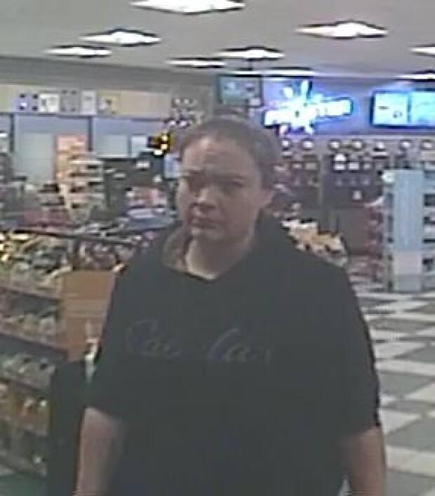 On Sept. 20, Megan Gallagher was captured on a surveillance video at a convenience store on the 3700 block of Diefenbaker Dr. in Saskatoon at around 6 a.m. CST, say police.