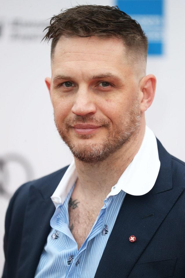 Tom Hardy made second place in the poll