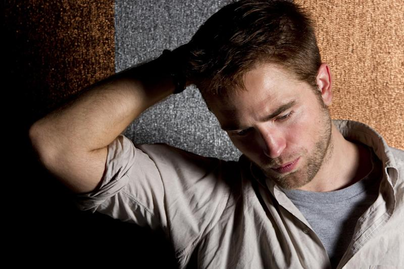 Actor Robert Pattinson poses for portraits during the 65th international film festival, in Cannes, southern France, Saturday, May 26, 2012. (AP Photo/Joel Ryan)