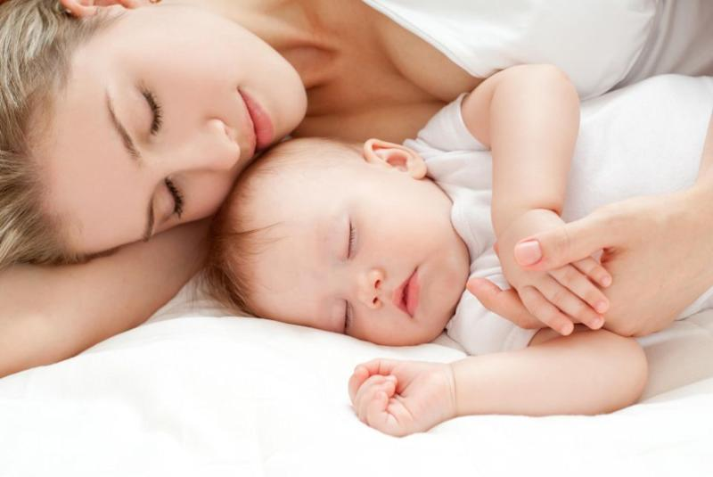 Sleeping directly next to your baby might seem like the easiest way to keep an eye on them throughout the night, but a new study suggests it could cause more harm than good. Photo: Getty Images