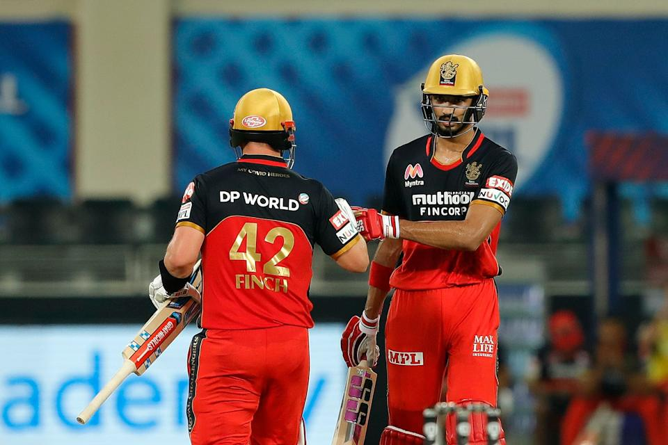 RCB have young Devdutt Padikkal along with Aaron Finch at the top.