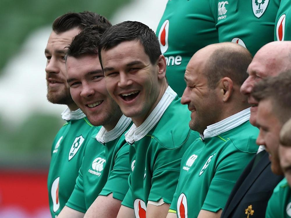 Ireland's Jonathan Sexton looks nailed on to be the starting fly-half (Getty)