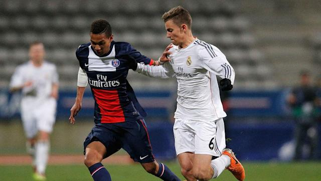<p>Marcos Llorente is a 22 year old holding midfielder who has come through the academy at Real Madrid.</p> <br><p>First team opportunities have been limited at Los Blancos which led to him being loaned out to Alaves. Llorente impressed while away as Alaves finished 9th in La Liga and reached the final of the Copa del Rey</p>