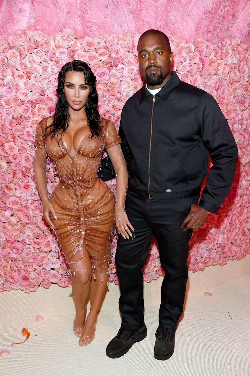 728aaa06 Kanye West Wore a $40 Dickies Jacket to the Met Gala, and You Can ...