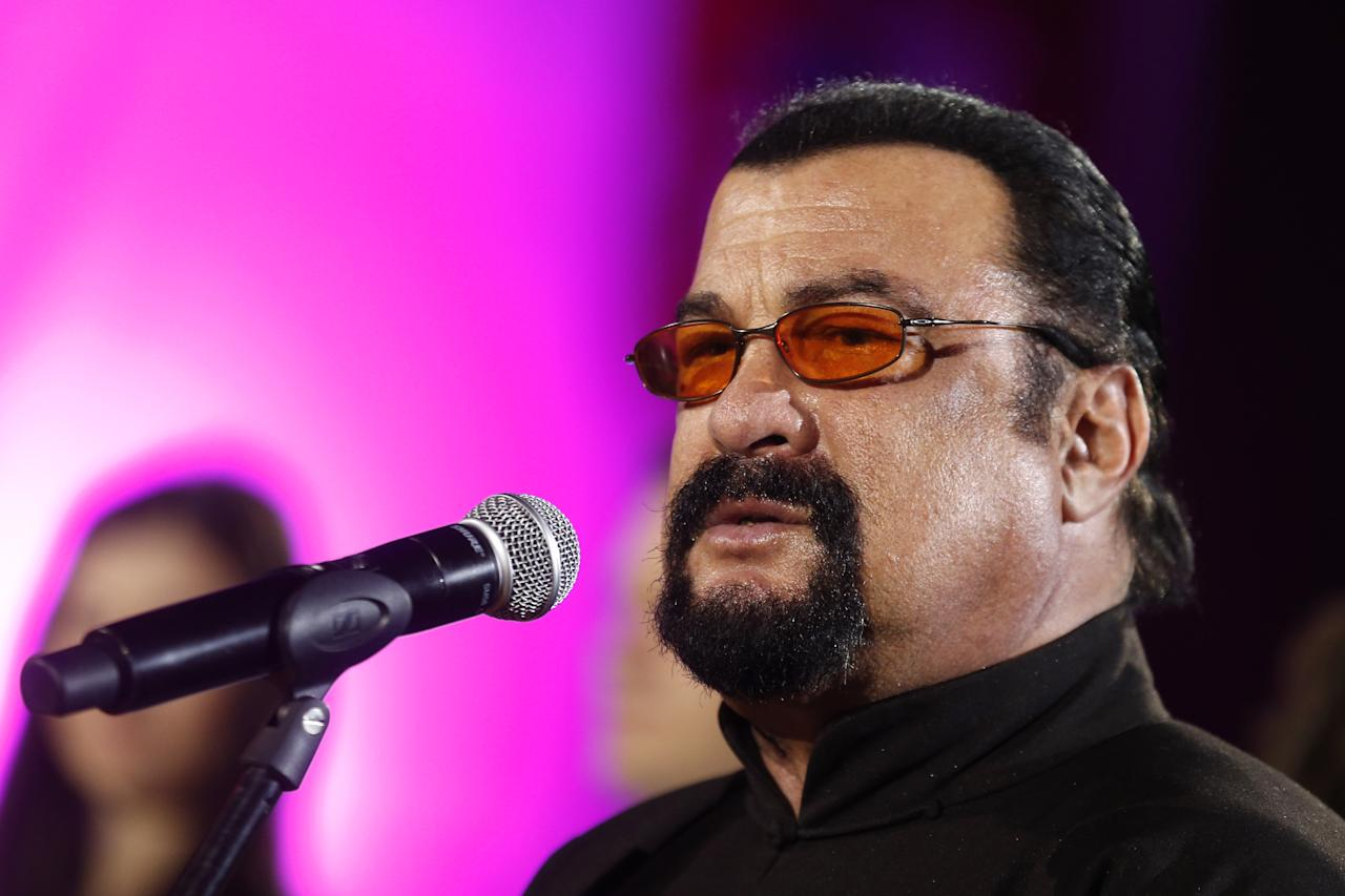 A second woman said Seagal assaulted her in 1995