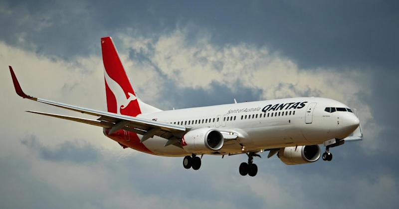 Qantas has been named the most polluting transpacific airline