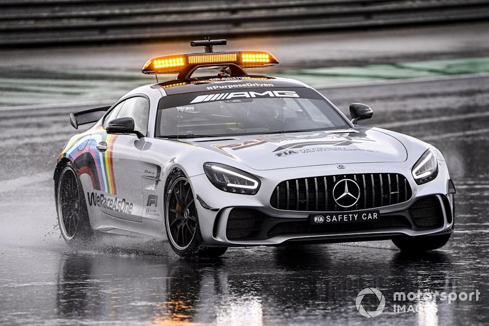 "Safety Car<span class=""copyright"">Mark Sutton / Motorsport Images</span>"