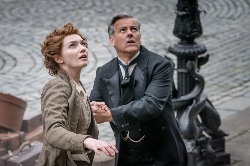 Rupert Graves (Frederick) and Eleanor Tomlinson (Amy). (Photo: BBC/© Mammoth Screen 2018)
