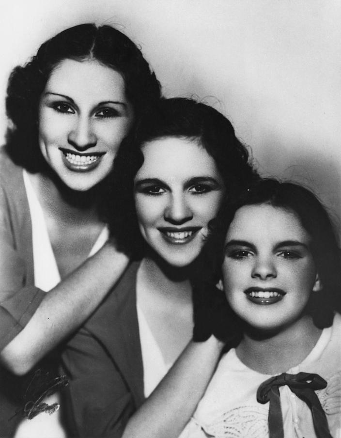 "<p>The Gumm Sisters changed their name to Garland when appearing at the World's Fair in Chicago in 1934. By 1935, Frances had shed her nickname ""Baby"" and chose the more adult-sounding, Judy. </p>"