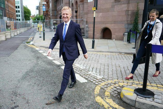 Oliver Dowden on the first day of Conservative Party Conference (Photo: Ian Forsyth via Getty Images)