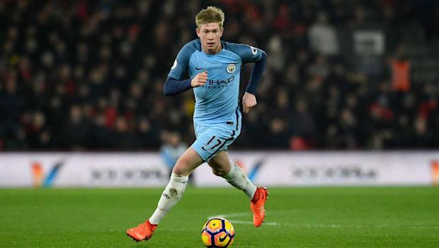 <p>One of the best creative midfielders in the Premier League, he has the rare combination of height, pace and technique. De Bruyne tops the Premier League assist charts with eleven in the league, and a further four in all competitions. </p> <br><p>However, with only five goals to his name this season he can certainly improve, which is a seriously scary thought for City's Premier League rivals. </p>