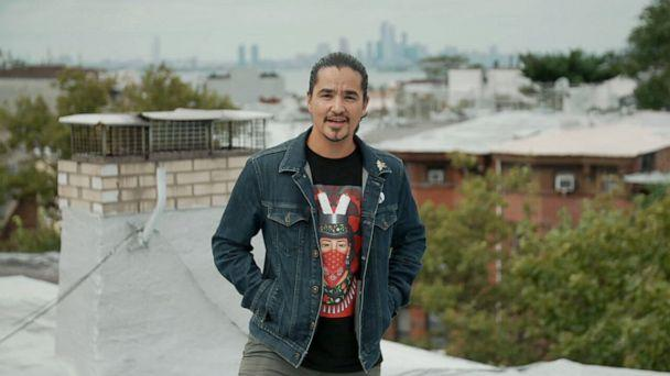 PHOTO: Ty Defoe, an artist, performer and activist, is a member of the Ojibwe and Oneida Nation who now lives in New York City. (ABC News)