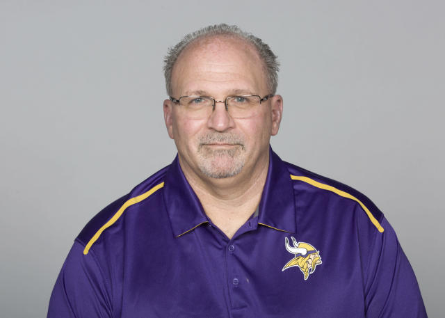 The Minnesota Vikings cancelled Friday's training camp workout to attend memorial service for late offensive line coach Tony Sparano. (AP Photo)