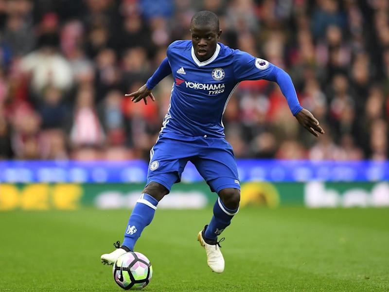 Kante was named the English PFA Player of the Year (Getty Images)
