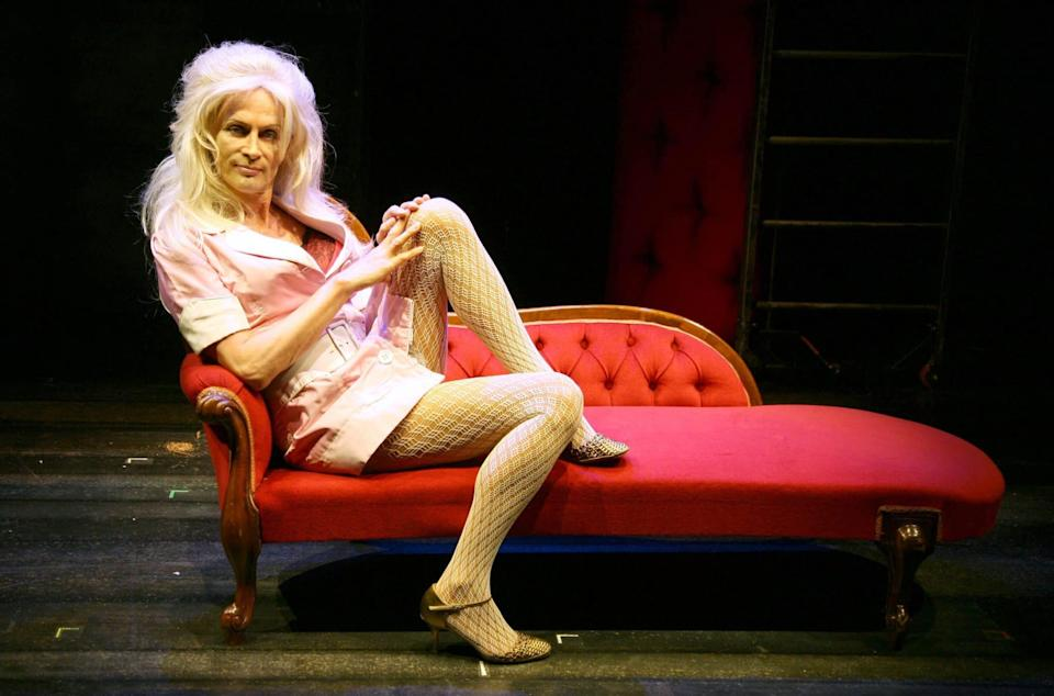 Rocky Horror star Richard O'Brien during a The Rocky Horror Show photocall in 2007