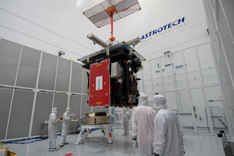 The Solar Orbiter at Nasa's Kennedy Space Centre