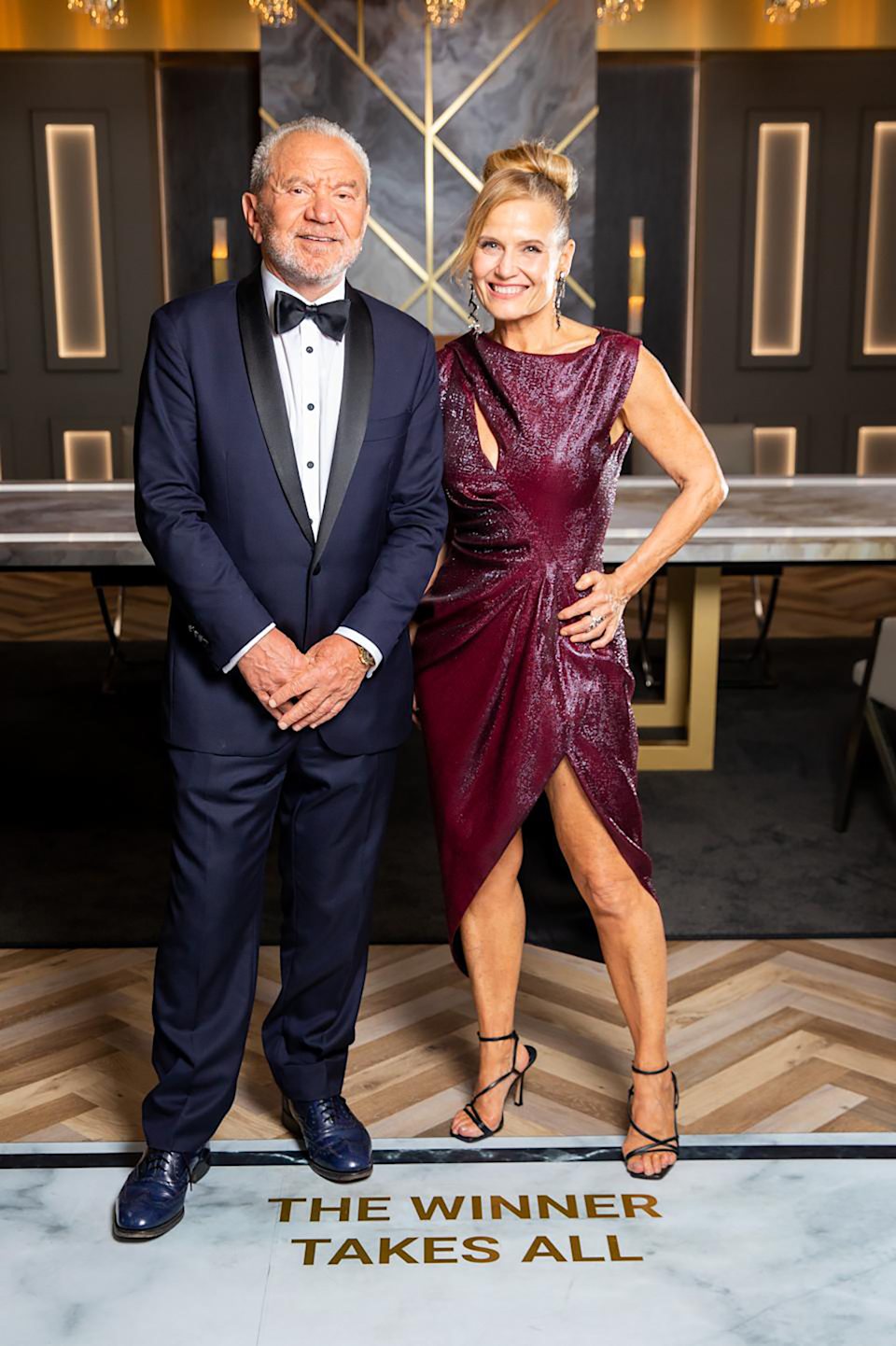 Shaynna slammed Lord Sugar last week for saying that she has a 'face like a slapped arse'. Photo: Channel Nine