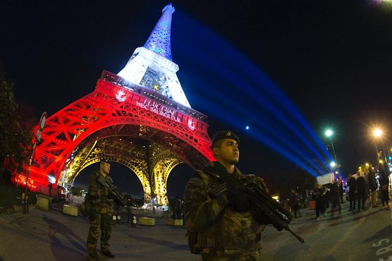 French authorities tightened emergency laws after November's attacks on bars, a concert hall and a sports stadium in Paris (AFP Photo/Joel Saget)