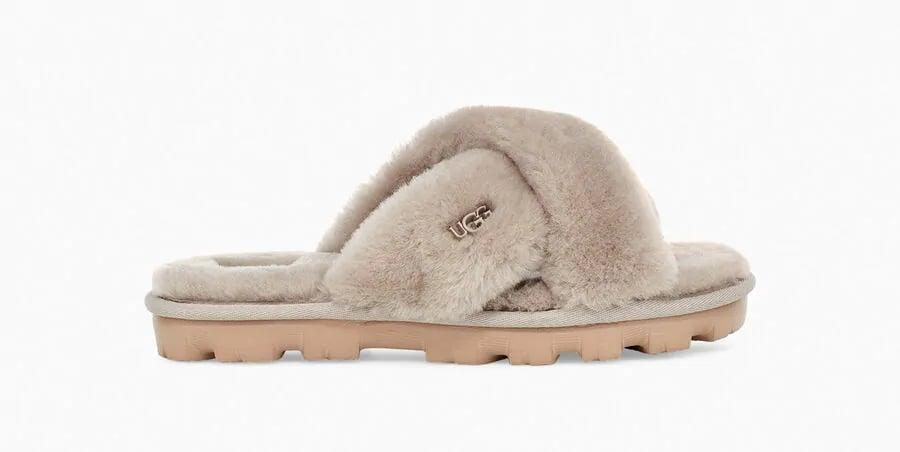 <p>Everyone is going to be obsessed with these <span>UGG Fuzzette Slippers</span> ($90).</p>