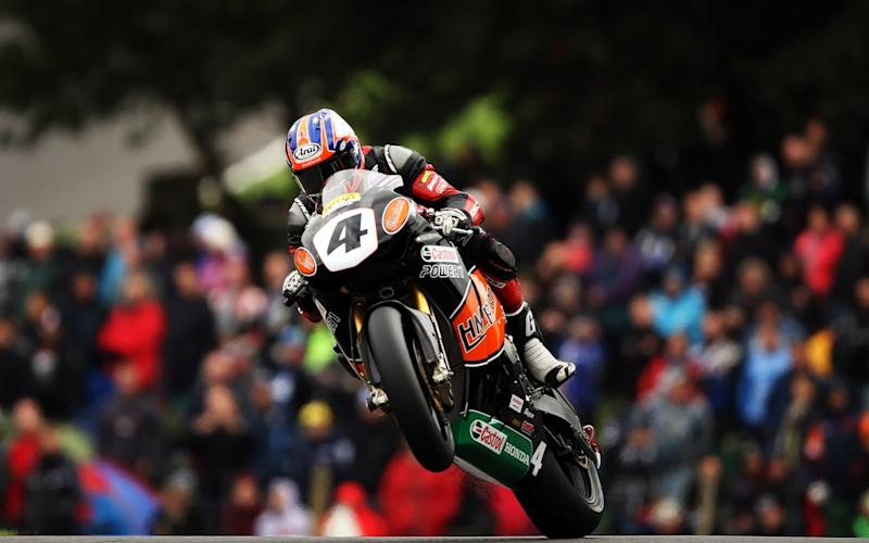 Josh Brookes at Cadwell seven years ago - Getty Images