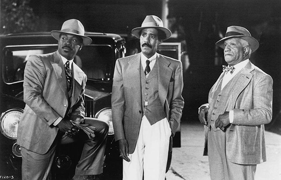 "<p><strong>Cast: </strong>Eddie Murphy, Richard Pryor, Redd Foxx, Jasmine Guy, Arsenio Hall</p><p>Set in the time of Prohibition, Sugar Ray (Pryor) and his adopted son Quick (Murphy) co-run a successful speakeasy that begins to outperform the rival establishment owned by the neighborhood gangster, who hires a dirty cop to sabotage the competition.</p><p><a class=""link rapid-noclick-resp"" href=""https://play.hbomax.com/feature/urn:hbo:feature:GXyMDXgH_pp28vgEAAAQV?camp=googleHBOMAX&action=play"" rel=""nofollow noopener"" target=""_blank"" data-ylk=""slk:Watch Now"">Watch Now</a><br></p>"