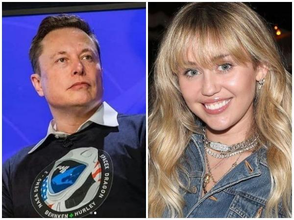 Elon Musk, Miley Cyrus (Image courtesy: Instagram)