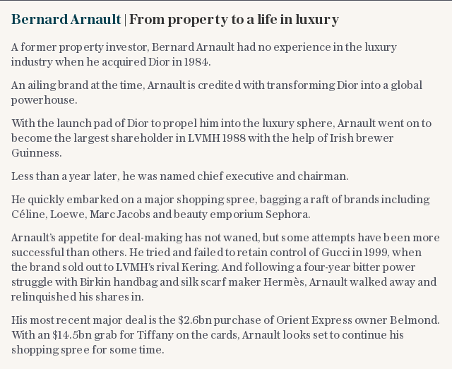 Bernard Arnault | From property to a life in luxury