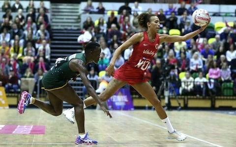 Serena Guthrie's incomparable tenacity and work rate made her a star at the Commonwealth Games - Credit: PA