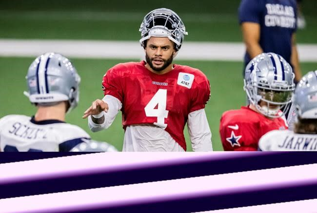 Cowboys' Prescott acknowledges mental struggles of off-season