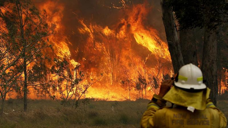 Scott Morrison and Premier Gladys Berejiklian have been briefed on the fires raging in NSW