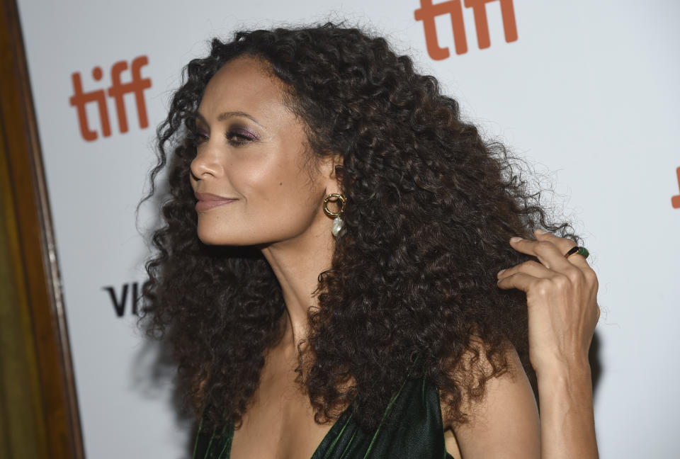 Thandie Newton attends the premiere for