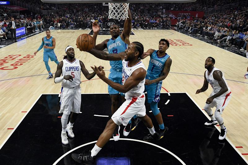 Kawhi's 30 propels Clippers to 111-96 win over Hornets