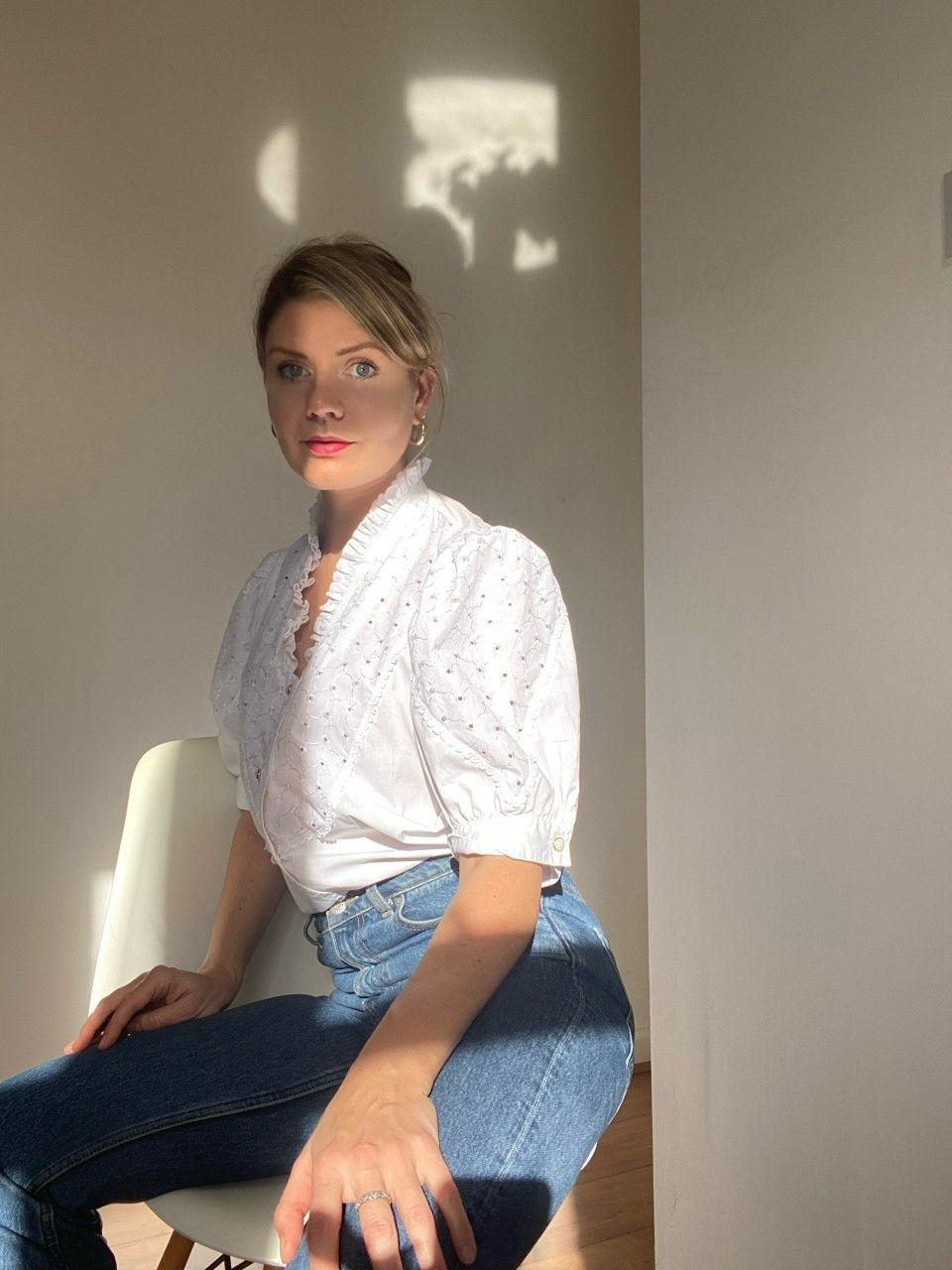 """<p>After working for over 15 years in the fashion industry, 36-year-old Nicci Fletcher opened her vintage shop, <a href=""""https://secondstories.co.uk/"""" rel=""""nofollow noopener"""" target=""""_blank"""" data-ylk=""""slk:Second Stories"""" class=""""link rapid-noclick-resp"""">Second Stories</a>, to reflect her personal shopping preferences. A mass clear-out of her clothes proved her most treasured items had lived a life before her, so in July 2019 she began sourcing and selling mid price pieces from Laura Ashley to Aquascutum. </p><p>'It's basically stuff I want to wear: sourced, prepped and ready for everyone else to enjoy because it makes me happy seeing beautiful things go on to have a second life, a Second Story,' Fletcher explained. </p><p><a class=""""link rapid-noclick-resp"""" href=""""https://secondstories.co.uk/"""" rel=""""nofollow noopener"""" target=""""_blank"""" data-ylk=""""slk:SHOP SECOND STORIES NOW"""">SHOP SECOND STORIES NOW</a></p>"""