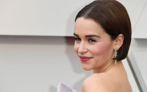 Emilia Clarke at the 2019 Oscars - Credit: AFP/Getty