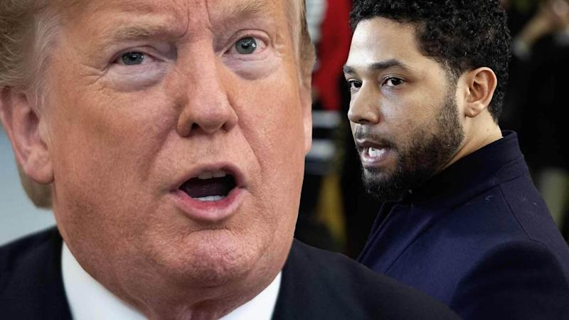 Trump attacks Jussie Smollett case as a 'disgrace to our nation'
