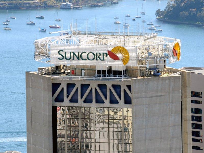 Suncorp lifts profit during calm weather