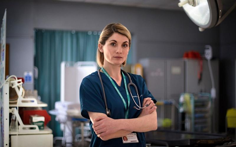 Jodie Whittaker in Trust Me - WARNING: Use of this copyright image is subject to the terms of use of BBC Pictures' Digital Picture