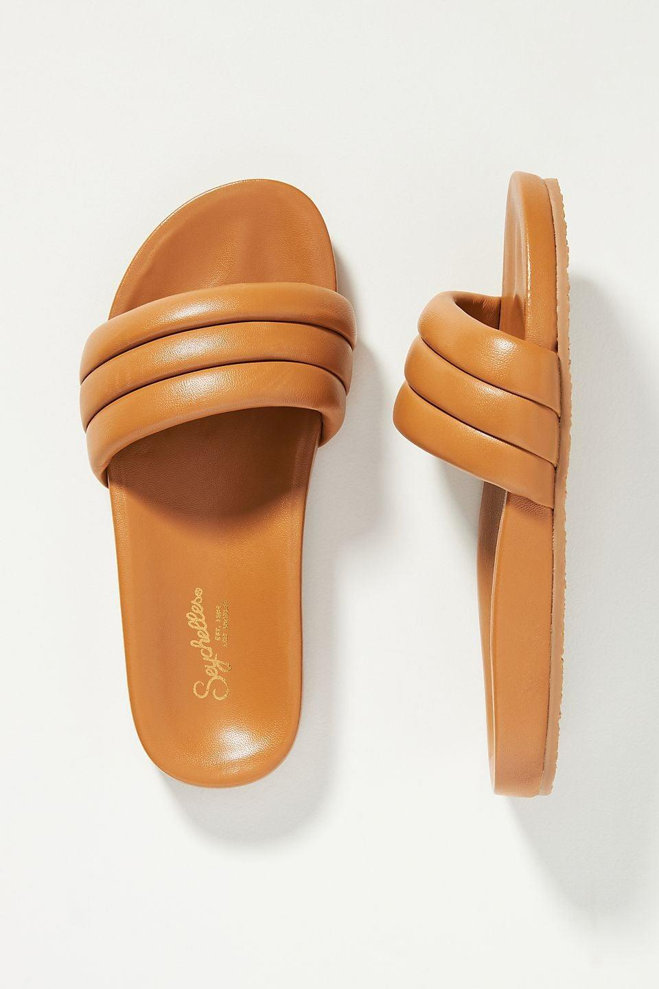 <p>Luxe yet laid-back, these <span>Seychelles Low Key Slide Sandals</span> ($99) feel like walking on an actual cloud. Need we say more?</p>
