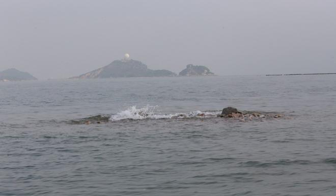 The launch had been on patrol in waters off Sha Chau. Photo: Handout