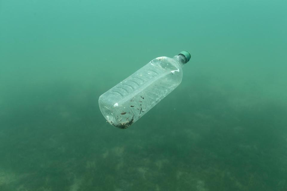 Plastic bottles, food containers and food wrappers are the four most widespread items polluting the seas (REUTERS)
