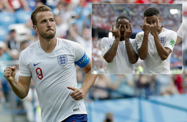 England's Harry Kane got a hat-trick for England in a stunning victory for the Three Lions.