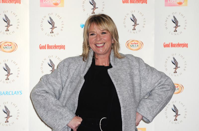 LONDON, ENGLAND - OCTOBER 14: Fern Britton attends the Women of the Year lunch at Intercontinental Hotel on October 14, 2013 in London, England (Photo by Ferdaus Shamim/WireImage)
