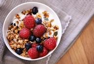 """<p>This morning favorite can crank up the calories in your breakfast quickly, if you're not careful with portion sizes. """"Most granola is packed with sugar and calories and deficient in essential nutrients and fiber. The better choice is <a href=""""https://www.prevention.com/food-nutrition/recipes/g25253175/overnight-oats-recipes/"""" rel=""""nofollow noopener"""" target=""""_blank"""" data-ylk=""""slk:oats"""" class=""""link rapid-noclick-resp"""">oats</a> or a low-sugar, whole-grain cereal,"""" Fisher says.</p>"""