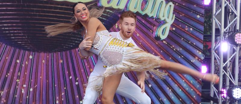 Katya Jones and ex-husband Neil Jones have to dance in close proximity on the show. (PA)