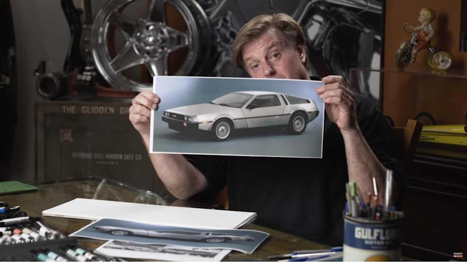 Chip Foose DeLorean